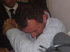 בן-דרור בבית המשפט, היום (צילום: עזרי עמרם, חדשות 2)