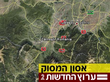 מפת האזור (צילום: חדשות 2)