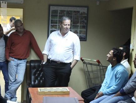 ראש עיריית נצרת עילית, שמעון גפסו (עמית מצפה) (צילום: מערכת ONE)