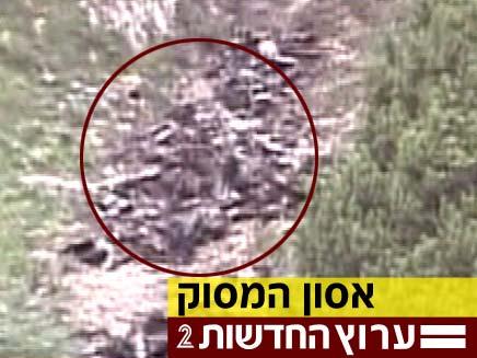 אסון המסוק ברומניה (צילום: חדשות 2)
