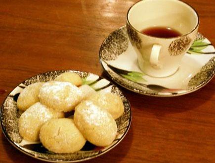 עוגיות שקדים (צילום: ויקי לבנט)
