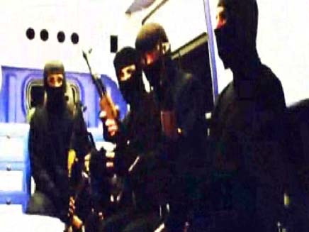 לוחמי השייטת, מתוך הסרט הטורקי, מרמרה, משט, עזה (צילום: חדשות 2)