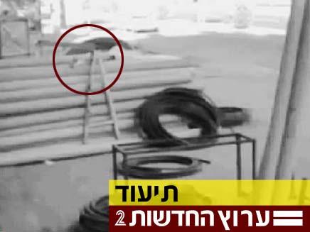 נס טורקי מול המצלמות (צילום: חדשות 2)