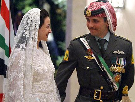 חמזה הנסיך הירדני (צילום: האתר הרשמי)