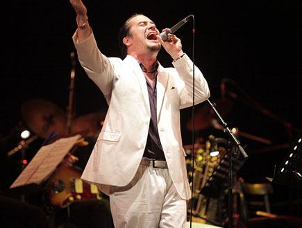 מייק פאטון הופעה (צילום: נועה מגר)