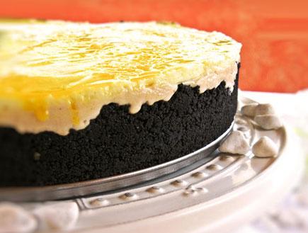 עוגת שמנת עם חמאת בוטנים - מוכנה (צילום: דליה מאיר, קסמים מתוקים)
