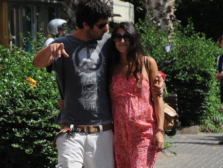 רון שחר ומיה קרמר מאוהבים (צילום: אלעד דיין)