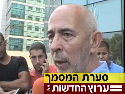 ארד, היום במשטרת מרחב ירקון (צילום: חדשות 2)