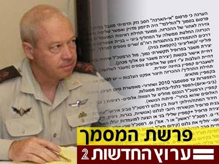 יואב גלנט - פרשת המסמך (צילום: חדשות 2)