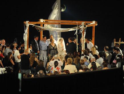 חתונה נדב פרי (צילום: אלעד דיין)