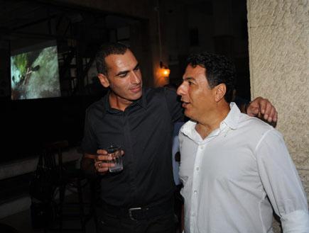 אלי אילדיס וחיים כהן - השקה רשיון להנות (צילום: אלעד דיין)