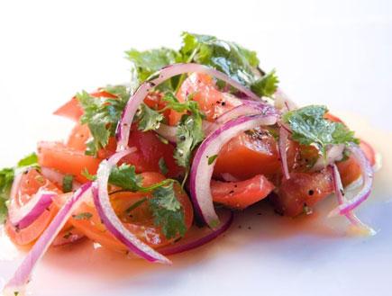 סלט עגבניות חצוף (צילום: דניאל לילה,  יחסי ציבור )