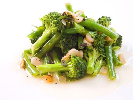 ירקות מאודים בשמן זית (צילום:  יחסי ציבור )