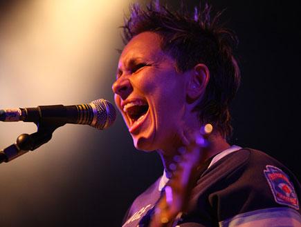 פוליאנה פרנק הופעה (צילום: נועה מגר)