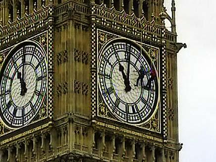 הביג בן בלונדון (צילום: חדשות 2)
