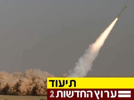 טיל אירני, פתאח 110 (צילום: חדשות 2)