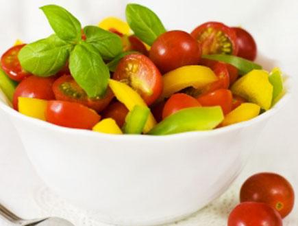 סלט עגבניות קיץ (צילום:  יחסי ציבור )