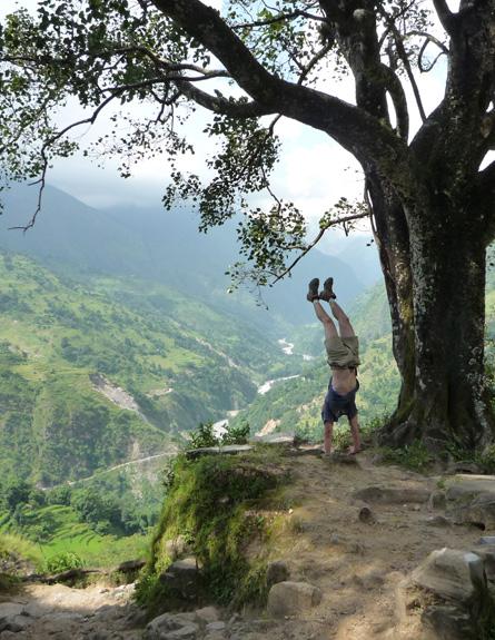 אראונד אנאפורנה, נפאל