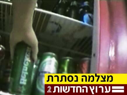 מוכרים אלכוהול (צילום: חדשות 2)