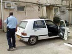 רכב החשוד (צילום: חדשות 2)