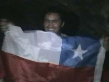 הכורים מצ'ילה (צילום: חדשות 2)