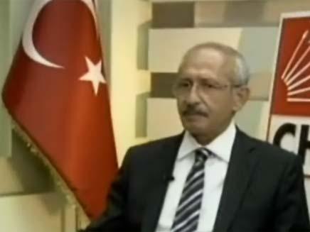 כמאל קיליקדארגולו, ראש האופוזיציה בטורקיה (צילום: חדשות 2)