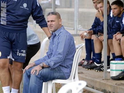ויינשטיין. ימשיך לשבת על כיסא המאמן (אלעד ירקון) (צילום: מערכת ONE)