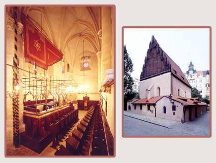 בית הכנסת בפראג - בתי כנסת מרשימים (צילום: האתר הרשמי)