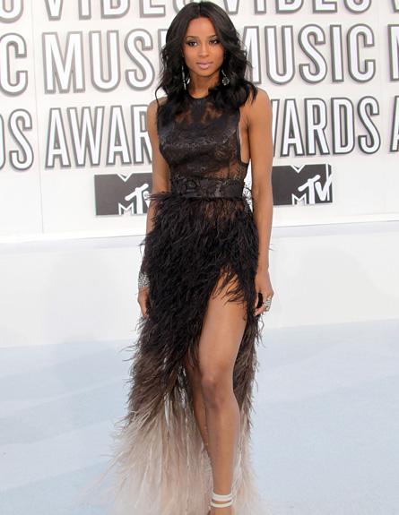 סיארה - טקס פרסי MTV 2010 (צילום: Frederick M. Brown, GettyImages IL)