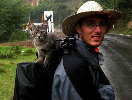 חתולה מטיילת בעולם2 - חתולה מטיילת (צילום: האתר הרשמי)