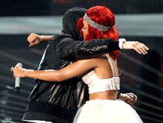 אמינם, ריהאנה, אמטיוי אמריקה 2010 (צילום: Gettyimages IL, getty images)