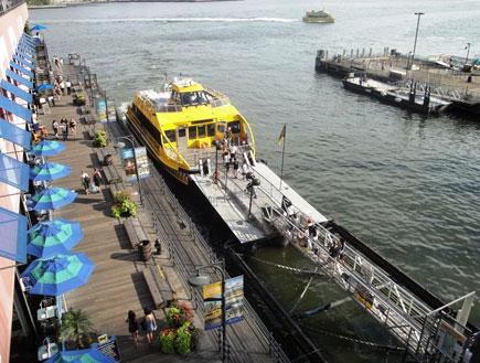נמל סאות' סטריט בניו יורק (צילום: קרן בר לב)
