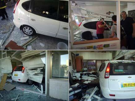 התאונה המוזרה, היום בירושלים (צילום: פדרו מאיר)