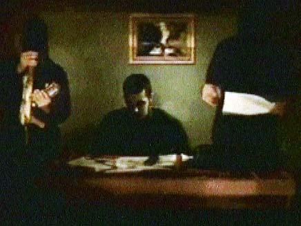 תמונה מהסרטון האחרון של חמאס על שליט (צילום: חדשות 2)