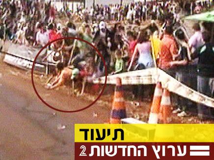 תיעוד התאונה הקשה בברזיל (צילום: חדשות 2)