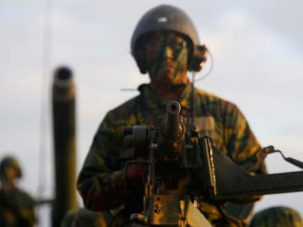 """ארה""""ב בונה מכ""""ם הגנה במפרץ הפרסי. ארכיון (צילום: רויטרס)"""