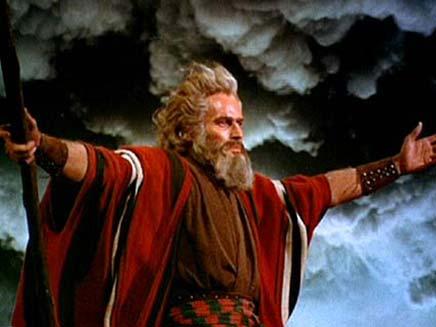 מי חצה את הים: משה או הרוח? (צילום: דיילי מייל)