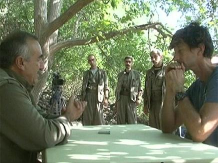 מנהיג ארגון הגרילה הכורדי (צילום: חדשות 2)