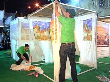 תחרות בניית סוכה בירושלים