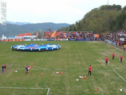 """האצטדיון באלסונד. משטח דשא &""""איכותי&"""" במיוחד (צילום: מערכת ONE)"""