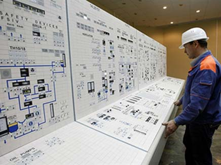 הכור הגרעיני בבושהר (צילום: רוסיה היום)