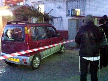 זירת הרצח (צילום: חדשות 24)