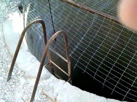 הבאר הנטושה ברחובות (צילום: חדשות 2)