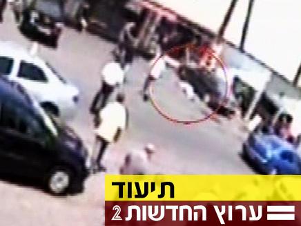 רצח ברחוב, איש לא עוזר (צילום: חדשות 2)