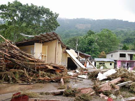 אסון הטבע במקסיקו, היום (צילום: AP)