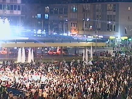 כיכר רבין (צילום: חדשות 2)