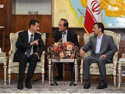 מהדקים יחסים. נשיאי סוריה ואירן, היום