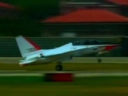 """מטוס ה-T-50. בקרוב בביה""""ס לטיסה? (צילום: חדשות 2)"""