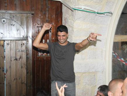משה פרץ חוגג סיום קיץ של הופעות (צילום: גבריאל אביחיליק)