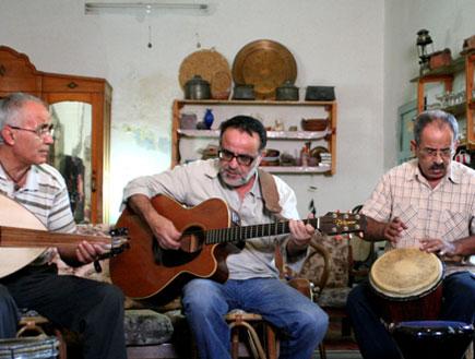 ג'יש, אהוד בנאי, גיל סמטנה, ג'וןרג' סמעאן, סאלם דר (צילום: דפנה סטמרי)